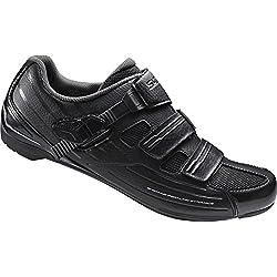 Shimano SHRP3NG410SL00 Zapatillas de Ciclismo de Carretera, Hombre, Negro (Black), 41 EU (6.5 UK)