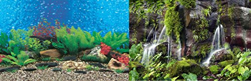 Foto Rückwand Motiv No 9 Aquarium / Terrarium - zweiseitig (120 x 50 cm)