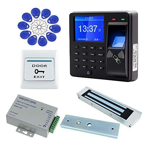 AMAO Kit de système de contrôle d'accès de Porte RFID biométrique Clavier à Empreinte Digitale...