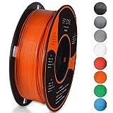 Filament PLA 1.75mm, Eryone PLA Filament 1.75mm, 3D Drucken Filament PLA for 3D Drucker, 1kg 1 Spool, Orange