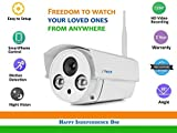 IFI BT1 Outdoor HD 720P Wireless Home, Office Security Camera, Motion Activated, Lifetime Support! Burglar Deterrent, DIY Outdoor Security Watch LIVE on your Smart Phone using ifiView App