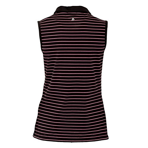 Green Lamb - T-shirt de sport - Femme noir/rose