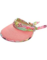 Paille Summer Hat Sunscreen UV Empty Top Hat Sun Hat plage Hat