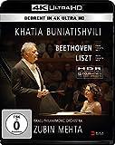 Khatia Buniatishvili & Zubin Mehta: Liszt & Beethoven (4K UHD) (Blu-ray)