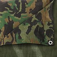 The Chemical Hut® Wasserdichte Bodenplane, Camouflage-Design, Militär-Design, mit antibakteriellem TCH Stift, 1.2m x 1.8m