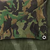 The Chemical Hut® impermeabile mimetico esercito telone Ground...