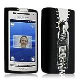 Seluxion - housse étui coque en gel pour Sony Xperia Ericsson X8 avec motif LM07