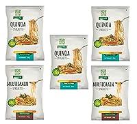 NutraHi Gluten Free Spaghetti Combo - 3 x Quinoa and 2 x Multigrain - 84gm Each