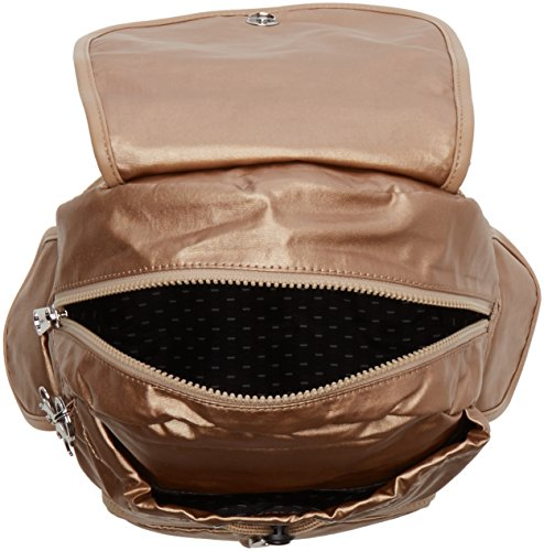 Kipling Damen City Pack S Rucksack, 27x33.5x19 cm Gold (Dusty Metal)
