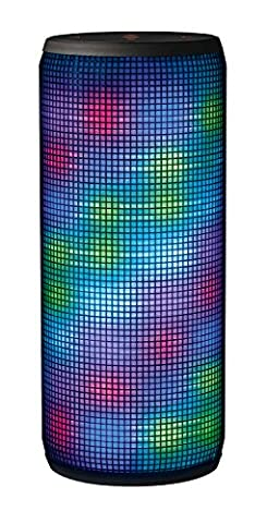 Trust Dixxo Wireless Portable Bluetooth Speaker with LED Party Lights, 20 W