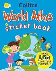 Collins World Sticker Atlas (Collins Sticker Books)
