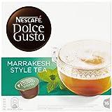 Nescafé Dolce Gusto Kapseln, Marrakesh Style Tea, Grüntee mit Pfefferminze, 48 Kapseln(3 x 16 kapseln) für 48 Getränke