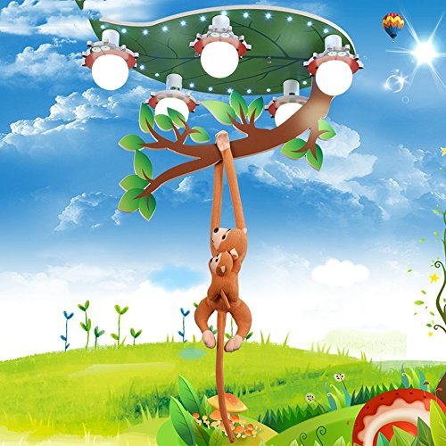 lxsehn-boys-girls-room-monkey-ceiling-light-chandelier-creative-led-eye-protection-kindergarten-bedr