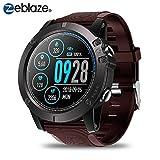 Zeblaze Vibe 3 Pro Smartwatch,Reloj Inteligente Hombre IP67 Reloj Deportivo a Prueba de Agua Monitor de Ritmo cardíaco Monitor de Ritmo cardíaco Podómetro para Hombres y Mujeres para iOS y Android