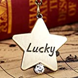 New and Imported Buildtough Lucky Star Turtle Shape Quartz Pocket Watch Necklace