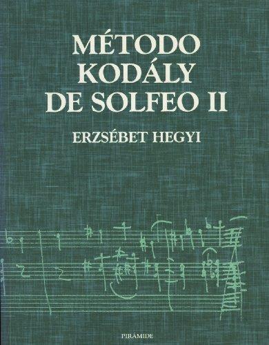 Método Kodály de Solfeo II: 2 (Música)