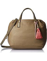 Gussaci Italy Women's Handbag (Taupe) (GUS063)