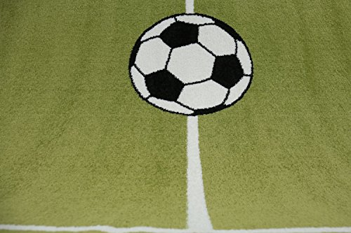 Tappeti Per Bambini Campo Da Calcio : Vimoda tappeto di pelo corto per el camera bambini motivo campo di