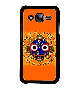Fuson Premium 2D Back Case Cover Puri Jaganath With Black Background Degined For Samsung Galaxy J2::Samsung Galaxy J2 J200F