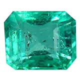 Smeraldo Pietra preziosa sciolto 0.60 ct AAA Grade Octagon Shape (5 x 4 mm) Green Colombian Emerald Natural Loose Gemstone