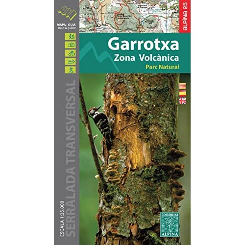 Garrotxa - Parc Natural de la Zona Volcanica map and hiking 2015