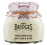Mrs. Bridges, Salsa para untar (Lima, Albahaca) - 6 de 180 gr. (Total: 1080 gr.)