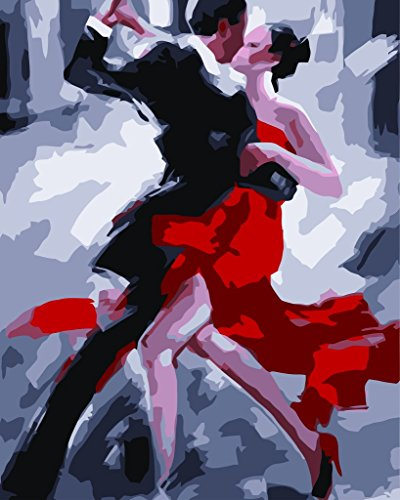 nuevo-lanzamiento-Pintura-al-leo-de-DIY-Por-Nmeros-Pintura-Por-Nmero-de-Kits-Tango-Baile-Negro-y-rojo-16-20-pulgadas-Aceite-Digital-Pintura-Pinturas-Lienzo-Arte-de-la-Pared-del-Paisaje-Ilustraciones-P