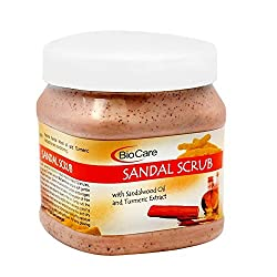BioCare SANDAL SCRUB with sandalwood oil and Turmeric...