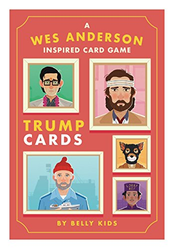 Completely Open - Wes Anderson Inspired Trump Card Game