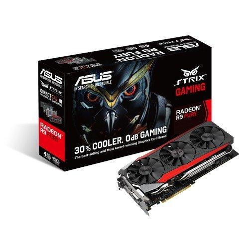 ASUS STRIX-R9FURY-DC3-4G-GAMING AMD Radeon R9 Fury 4GB