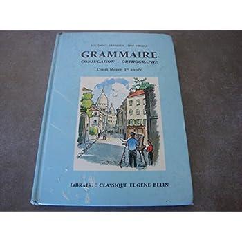 GRAMMAIRE CONJUGAISON CM 1