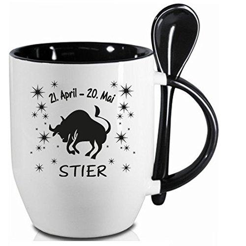 tazza-segno-zodiacale-toro-nero-cucchiaio-tazza-con-cucchiaio-in-ceramica-regali-tazza-in-top-qualit