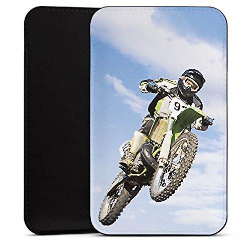 DeinDesign Alcatel A 3 Hülle Tasche Sleeve Socke Schutzhülle Motocross Motorrad Motorsport