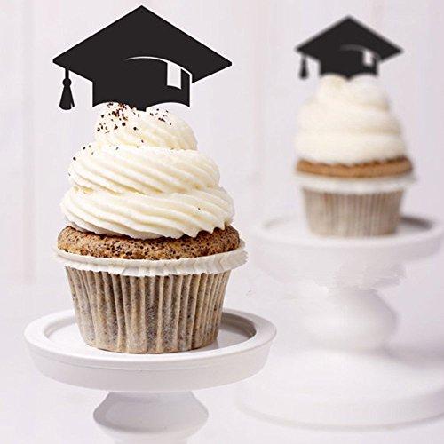 Kuchen Topper, Kuchen, Dekoration Party Supplies Cupcake Topper Graduation Party Dr. Hat Mini Geburtstag Kuchen Snack Dekorationen Picks Herstellern Party Zubehör für Die Graduierung