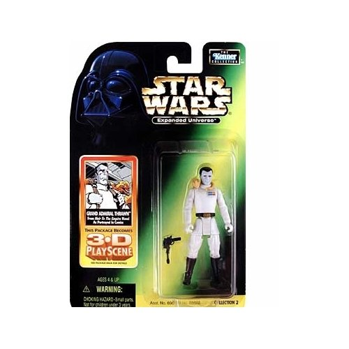 STAR WARS*GRAND ADMIRAL THRAWN*EXPANDED UNIVERSE*KENNER (Star Wars Action Figur Admiral)