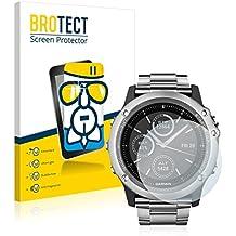 BROTECT AirGlass Protector Pantalla Cristal Flexible Transparente para Garmin fenix 3 Saphir Protector Cristal Vidrio - Extra-Duro, Ultra-Ligero, Ultra-Claro