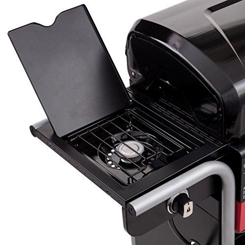 char broil gas2coal 330 hybrid grill 3 brenner gas kohlegrill mit seitenbrenner schwarz. Black Bedroom Furniture Sets. Home Design Ideas