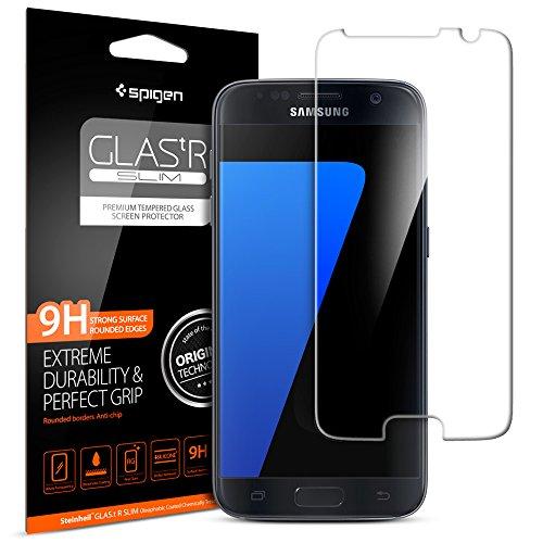 [Installazione di Easy] Spigen® Pellicola Vetro Temperato Samsung Galaxy S7,...