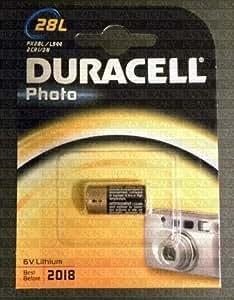 Duracell PX28L 476A 4LR44 A544 V403PX Pile alcaline Pour sonnettes, jouets, colliers pour animaux, appareils photos et autres usages 6 V