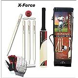 Speed Up X-Force Cricket Kit| Cricket Set | Bat| Ball| Wickets| Gloves