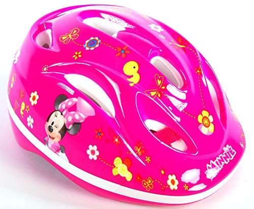 Minnie Mouse Disney Kinder Fahrrad-Helm Deluxe Gr. 51-55 cm