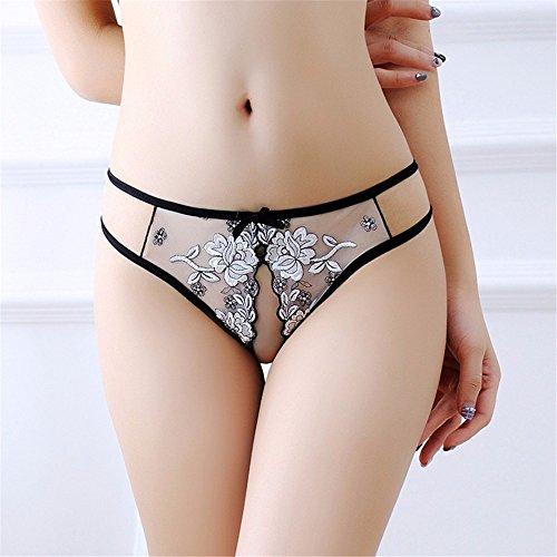 c9f3c087c833 Tanga Sexy Malla Transparente Sexy Bragas Skimpy Tanga Sexy Tanga Micro  Mujeres Bragas, Blanco