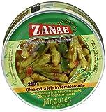Produkt-Bild: Zanae Okra, extra fein, in Öl , 2er Pack (2 x 280 g Packung)