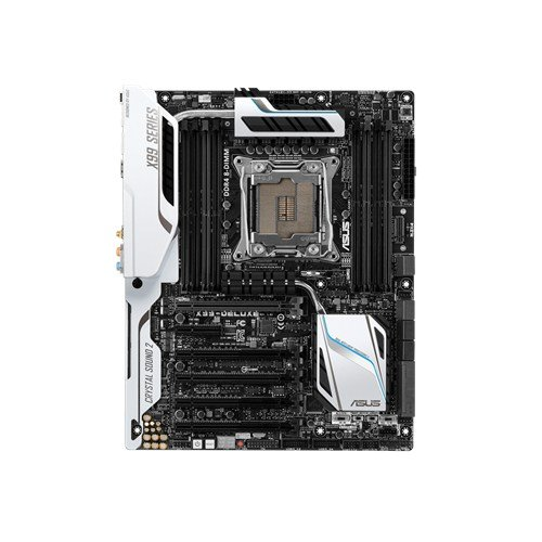 Best ASUS X99-DELUXE/U3.1 Motherboard (Socket 2011-3, Intel X99, DDR4, S-ATA 600, ATX, 5 x PCI Express 3.0 x16) on Line