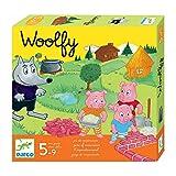 DJECO-DJ08427 Jeux éducatifs Woolfy Multicolore (DJ08427)