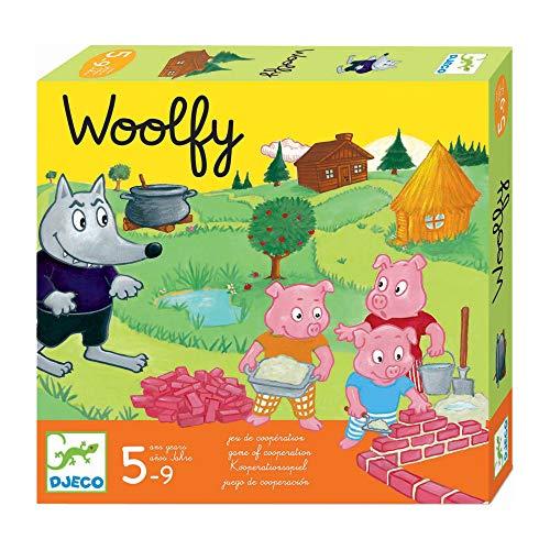 DJECO-DJ08427 Juegos Educativos Woolfy, Multicolor (DJ08427)