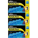3er Pack 4+1 Pack Braun Clean & Renew CCR 4+1 - 5 x 170ml