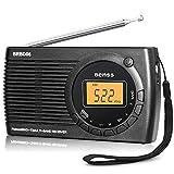 Radio Portatile Digitale Mini FM AM SW Radio Tascabile Radiolina DSP Transistore Radio Stereo RIcevitore con Digitale Allarme Orologio e Temporizzatore di Sonno