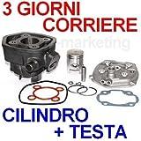 Unbranded 50 CC Cilindro Gruppo Termico PISTONE Testa Kit per MALAGUTI F12 F 12 Phantom LC