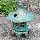 HLJ Creative Garden Retro Leuchter Einfache Gusseisen Handwerk Kreative Wandkerzenhalter